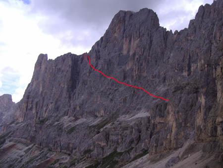 Klettersteig Rosengarten : X63 hiking u003e klettersteige santnerpass klettersteig i